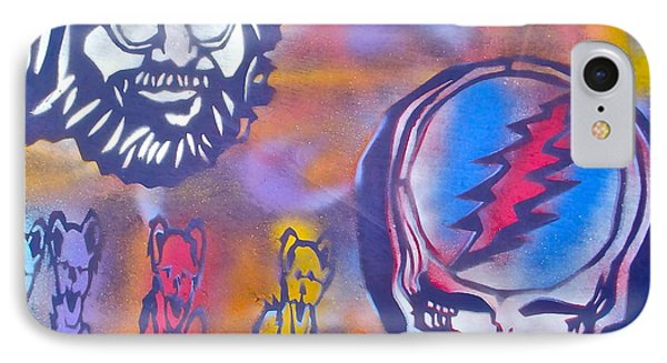 The Grateful Dead IPhone Case by Tony B Conscious