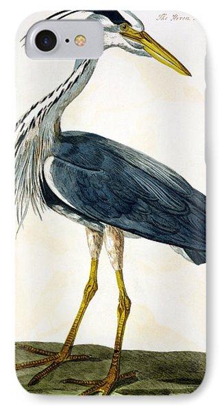 The Heron  IPhone Case by Peter Paillou