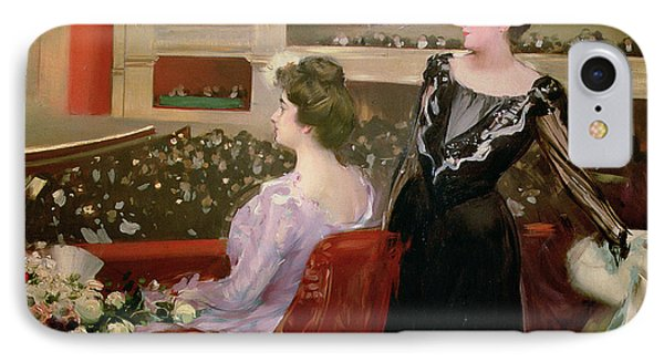The Lyceum Phone Case by Ramon Casas i Carbo