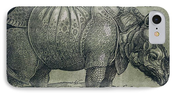 The Rhinoceros Phone Case by Albrecht Durer