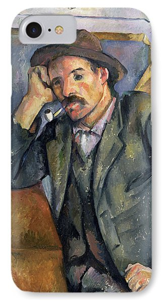 The Smoker IPhone Case by Paul Cezanne