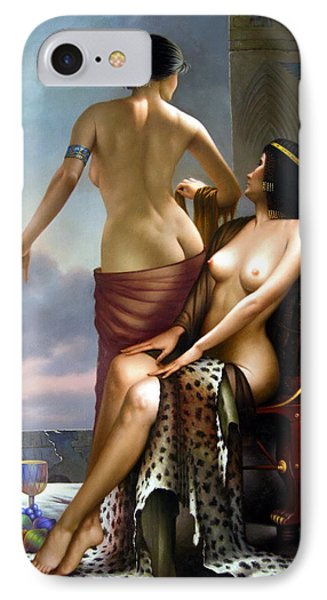 The Two Women Moonlit Night IPhone Case