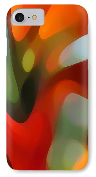Tree Light 2 Phone Case by Amy Vangsgard