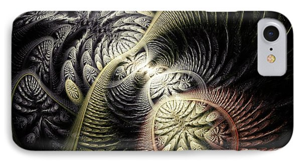 Trilobite Trail IPhone Case by Anastasiya Malakhova