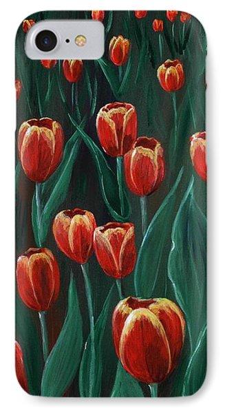 Tulip Festival IPhone Case