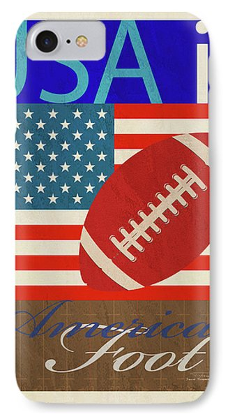 Usa Is American Football IPhone Case