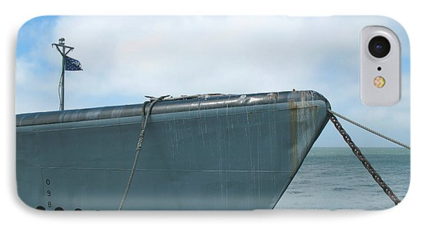 IPhone Case featuring the photograph Uss Pampanito - Vintage Submarine by Connie Fox