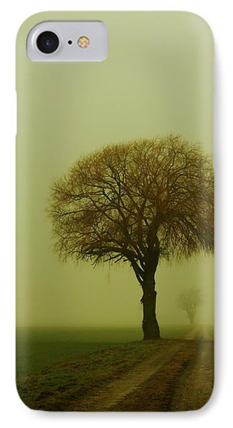 IPhone Case featuring the photograph  Walk In The Fog by Franziskus Pfleghart