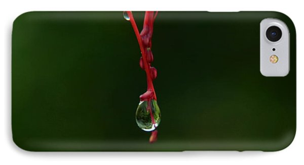 Waterdrop IPhone Case by Michelle Meenawong