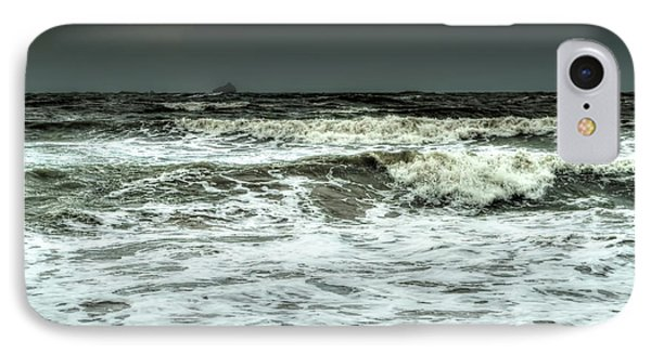 IPhone Case featuring the photograph  Waves by Michelle Meenawong
