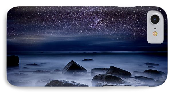 Beach iPhone 7 Case -  Where Dreams Begin by Jorge Maia