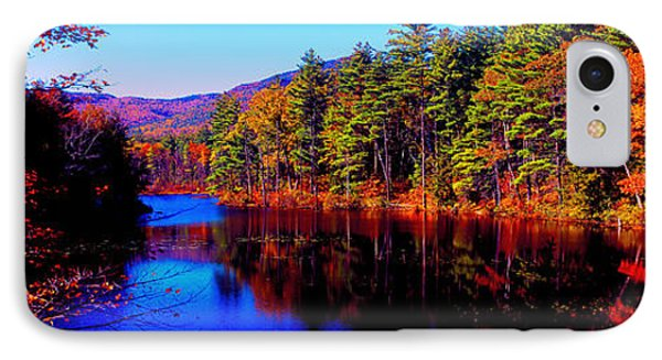 White Mountians National Park Red Eagle Pond New Hampshire IPhone Case