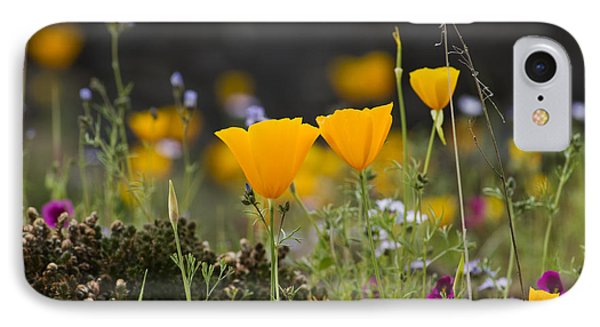 Wildflowers Explode IPhone Case
