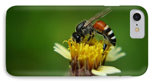 Working Bee IPhone Case by Michelle Meenawong