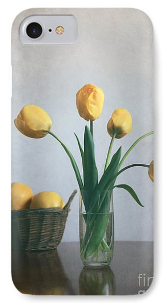 Yellow Tulips IPhone Case by Diana Kraleva