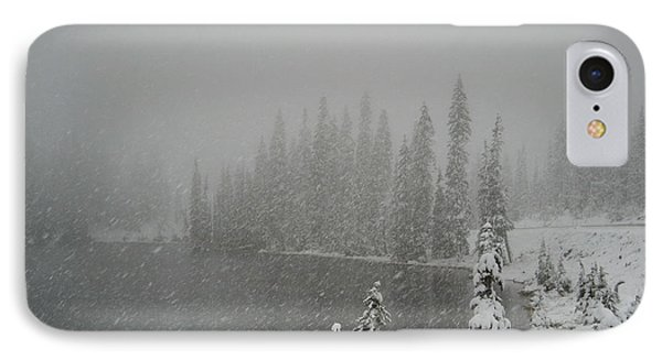 You Can Almost Hear The Snow In This Peace  IPhone Case
