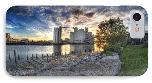 003 General Mills At Sunset IPhone Case by Michael Frank Jr