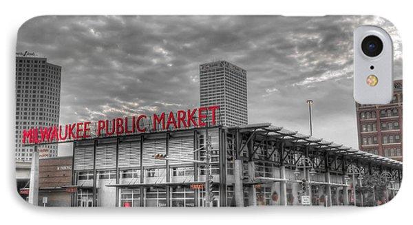 0038 Milwaukee Public Market IPhone Case