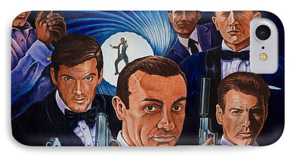 007 IPhone Case by Michael Frank
