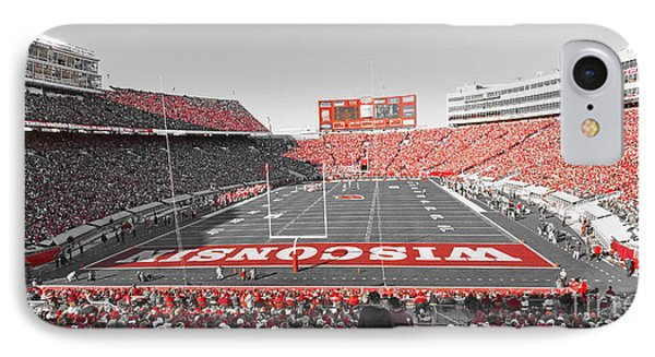 0095 Badger Football  IPhone Case