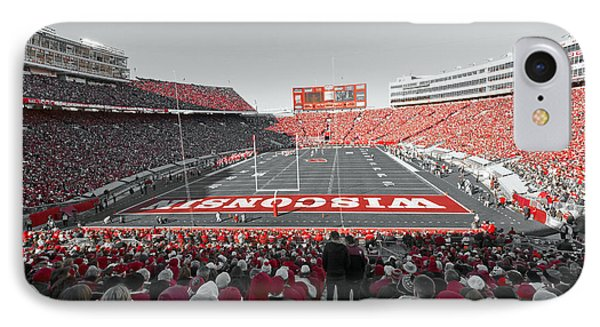 0096 Badger Football IPhone Case