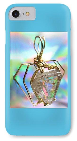 0216 Golden Needles IPhone Case