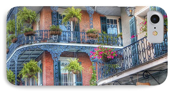0255 Balconies - New Orleans IPhone Case