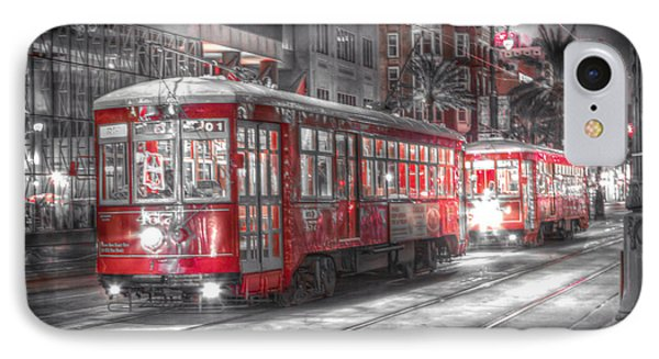 0271 Canal Street Trolley - New Orleans IPhone Case