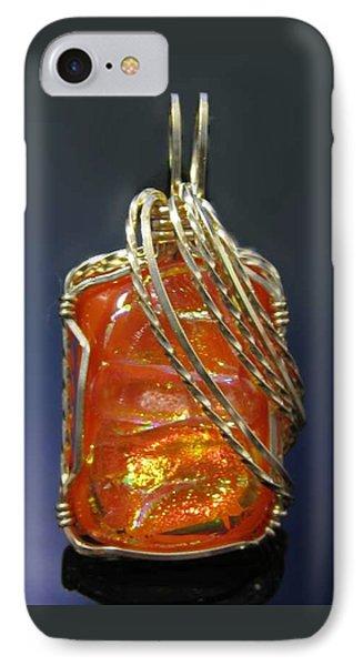 0294 Fiery Sunset IPhone Case
