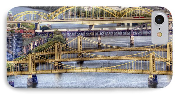 0307 Pittsburgh 8 Phone Case by Steve Sturgill