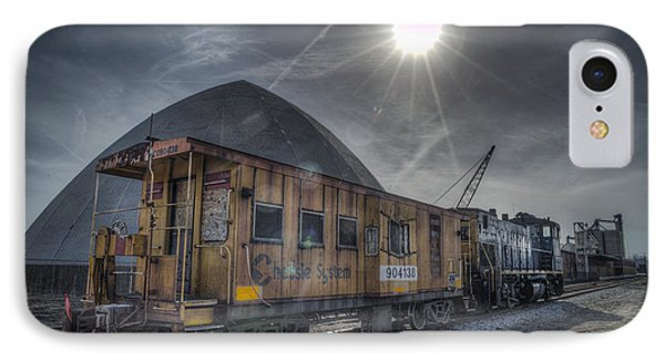 03.21.14 Csx Switcher - Co Caboose IPhone Case by Jim Pearson