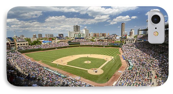 0415 Wrigley Field Chicago IPhone Case