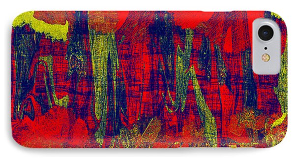 0486 Abstract Thought IPhone Case