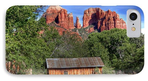 0682 Red Rock Crossing - Sedona Arizona IPhone Case by Steve Sturgill