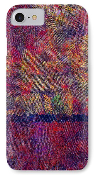 0799 Abstract Thought IPhone Case
