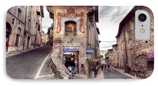 0801 Assisi Italy IPhone Case