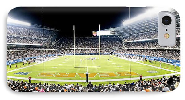 0856 Soldier Field Panoramic IPhone Case