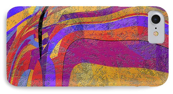0871 Abstract Thought Phone Case by Chowdary V Arikatla