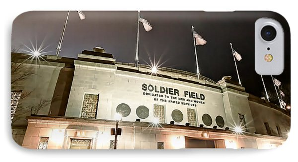 0878 Soldier Field IPhone Case