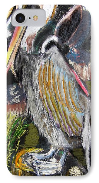 090914 Pelicans IPhone Case by Garland Oldham