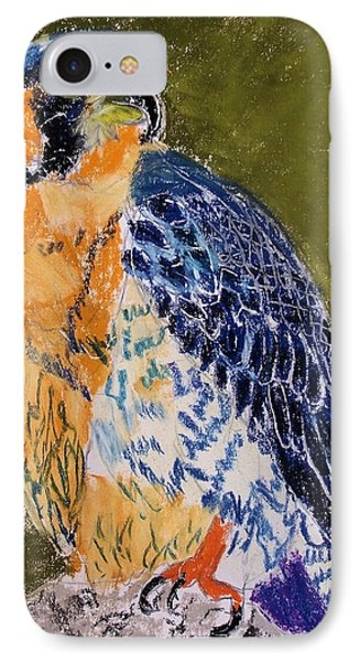 092914 Paragon Falcon IPhone Case by Garland Oldham