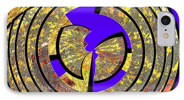 0985 Abstract Thought Phone Case by Chowdary V Arikatla