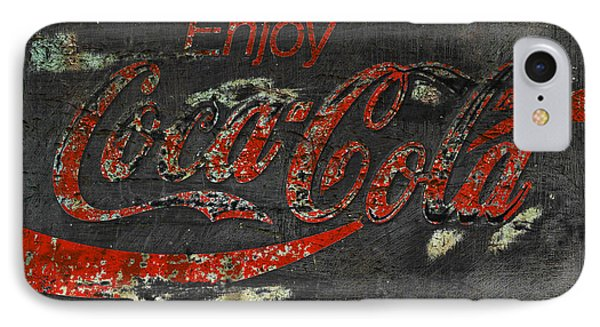 Coca Cola Sign Grungy  IPhone Case