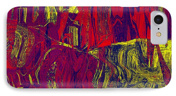 0479 Abstract Thought Phone Case by Chowdary V Arikatla
