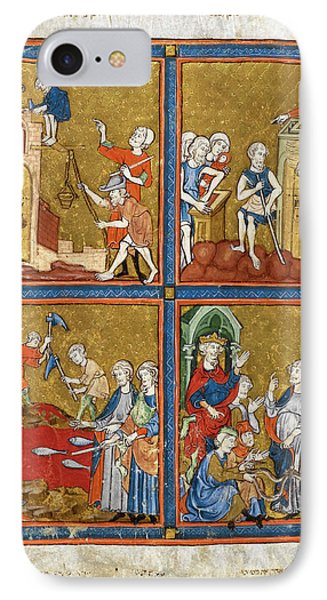 14th Century Religious Manuscript IPhone Case by British Library
