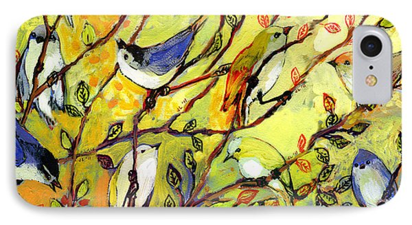 16 Birds IPhone 7 Case by Jennifer Lommers