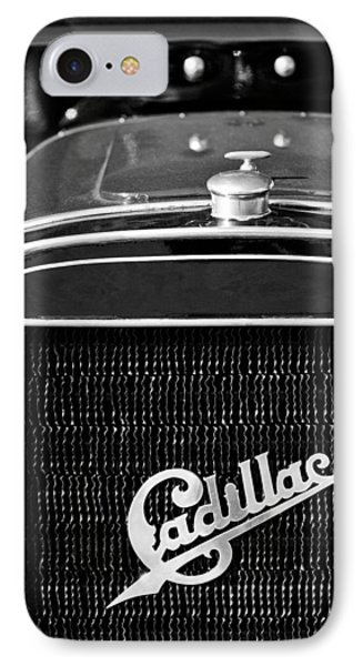 1907 Cadillac Model M Touring Grille Emblem Phone Case by Jill Reger