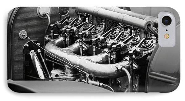 1910 Benz 22-80 Prinz Heinrich Renn Wagen Engine IPhone Case by Jill Reger