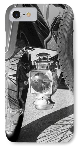 1911 Ford Model T Torpedo 4 Cylinder 25 Hp Taillight Phone Case by Jill Reger