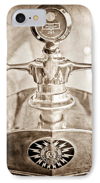 1917 Owen Magnetic M-25 Hood Ornament - Moto Meter IPhone Case by Jill Reger